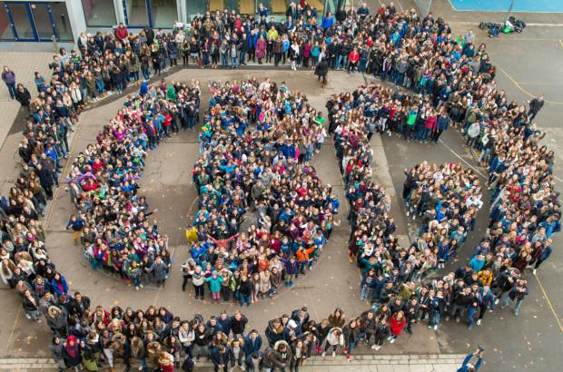 CBG-Schülertraube, organisiert durch die SV!