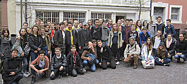 Schüleraustausch Frankreich 2016