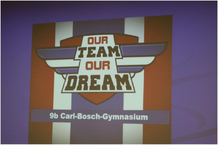 die Power-Point-Präsentation der Klasse 9b des Carl-Bosch-Gymnasiums