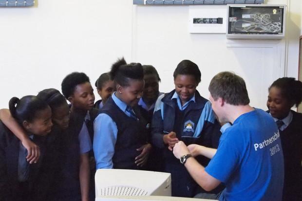 Partnerschule in Kapstadt