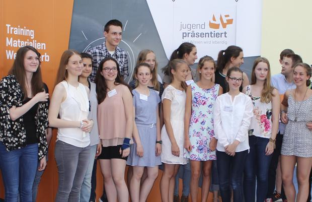 Qualifikation im Wettbewerb »Jugend präsentiert«