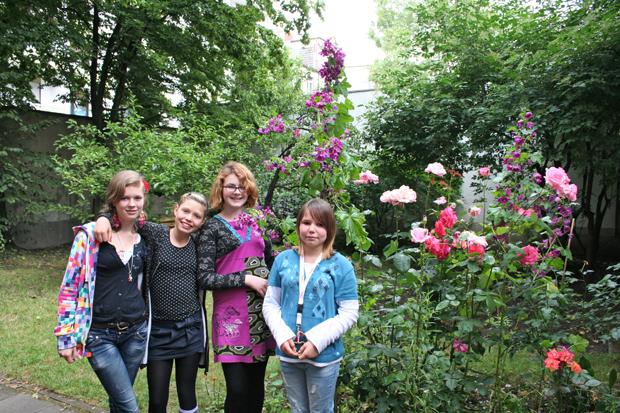 Arbeitsgemeinschaft Schulgarten nimmt an Wettbewerb teil