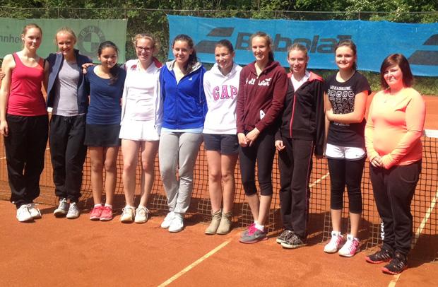 Jugend trainiert für Olympia – Tennis (2014)
