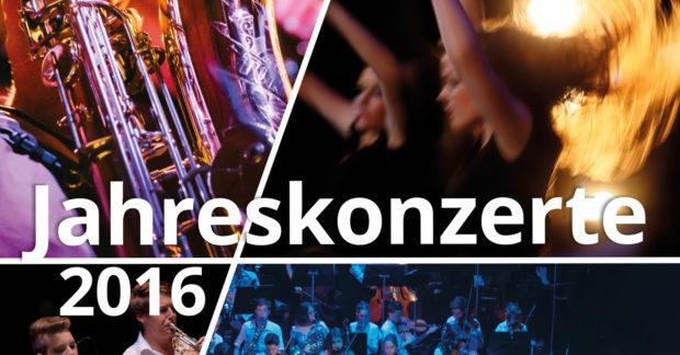Jahreskonzerte 2016