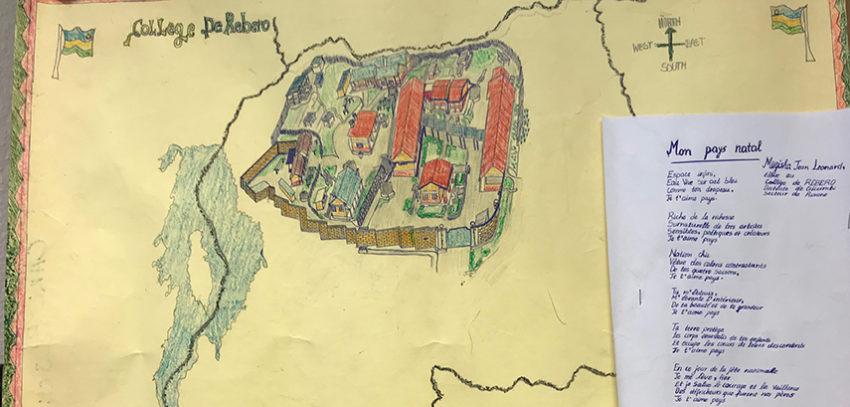 Schulpartnerschaft in Ruanda